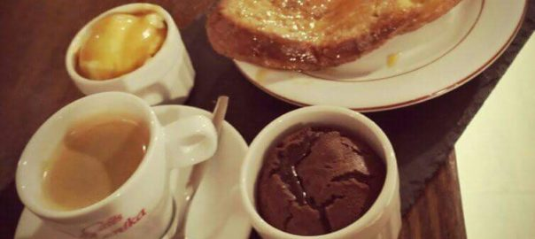Café gourmand du Rest O Bar