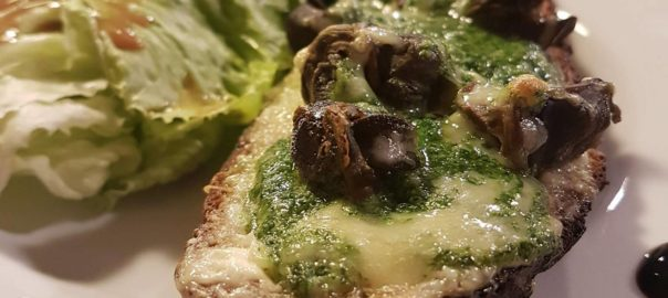 le restobar tartine escargot